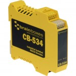 Brainboxes Industrial Isolated RS232 Booster CB-534