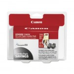 Canon Ink Cartridge Photo Paper Combo Pack 0615B009
