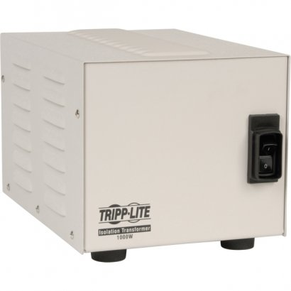Tripp Lite Isolation Transformer - Medical Grade Line Noise Reduction and Spike Suppression IS1000HG