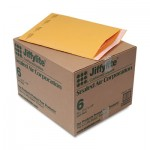 Sealed Air Jiffylite Self-Seal Mailer, Side Seam, #6, 12 1/2 x 19, Golden Brown, 50/Carton SEL39097