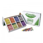Crayola 528389 Jumbo Classpack Crayons, 25 Each of 8 Colors, 200/Set CYO528389