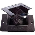 Rack Solutions KoldLok Mini Raised Floor Grommet 185-4890