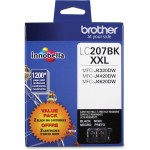 Brother LC207 Super High Yield Ink Cartridges LC2072PKS