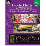 Shell Leveled Texts for Mathematics: Fractions, Decimals, and Percents 50785