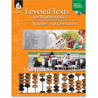 Shell Leveled Texts for Mathematics: Number and Operations 50715