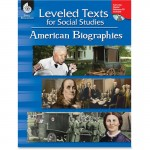 Shell Leveled Texts for Social Studies: American Biographies 50894