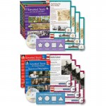 Shell Leveled Texts for Social Studies: 6-Book Set 51070