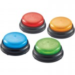 Learning Resources Lights & Sounds Buzzers , Set of 4 LER3776
