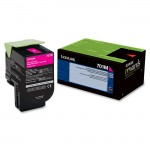 Lexmark Magenta Return Program Toner Cartridge 70C10M0
