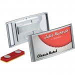 Durable Magnetic Classic Name Badge Holder 854023