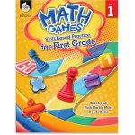 Shell Math Games: Skill-Based Practice for First Grade 51288