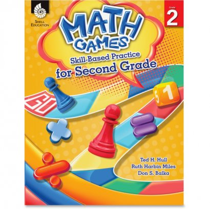 Shell Math Games: Skill-Based Practice for Second Grade 51289