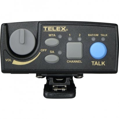 Telex Narrow Band UHF Two-Channel Wireless Synthesized Portable Beltpack TR-80N-C3R5
