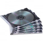 Fellowes NEATO Thin CD Jewel Case--Clear, 25 pack 98316