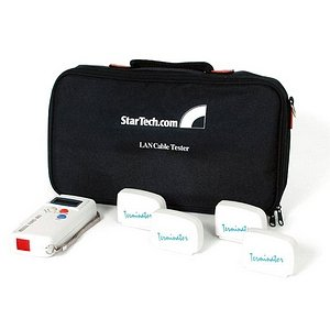 StarTech.com Network Cable Tester w/ Loopback Plugs LANTESTPRO