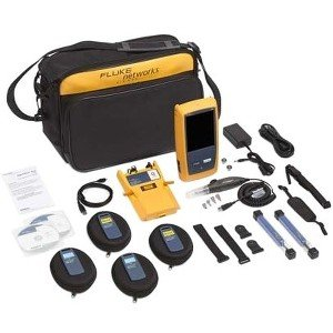 Fluke Networks OptiFiber Pro Quad OTDR Kit with 1 Year Of Gold Support OFP2-100-Q/GLD