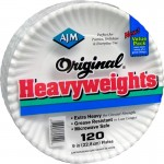 AJM Packaging Original Heavyweights Plates OH9AJBXWH