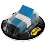 Post-it Flags 680-HVBE Page Flags in Desk Grip Dispenser, 1 x 1 3/4, Blue, 200/Dispenser MMM680HVBE