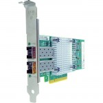 PCIe x8 10Gbs Dual Port Fiber Network Adapter for Solarflare SFN5122F-AX