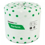 Cascades PRO Perform Standard Bathroom Tissue, Septic Safe, 2-Ply, White, 4 x 3 1/2, 336 Sheets/Roll, 48