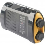 First Aid Only Portable AM/FMTV Crank Radio 90423