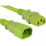 ENET Power Extension Cord C13C14-GN-10F-ENC