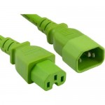 ENET Power Extension Cord C14C15-GN-3F-ENC