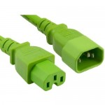 ENET Power Extension Cord C14C15-GN-10F-ENC