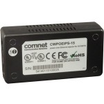 ComNet Power over Ethernet (POE) Midspan Injector for 10/100TX CWPOEIPS-15