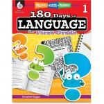 Shell Practice, Assess, Diagnose: 180 Days of Language for First Grade 51166