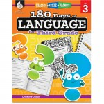 Shell Practice, Assess, Diagnose: 180 Days of Language for Third Grade 51168