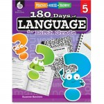 Shell Practice, Assess, Diagnose: 180 Days of Language for Fifth Grade 51170