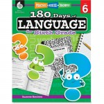 Shell Practice, Assess, Diagnose: 180 Days of Language for Sixth Grade 51171