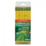 Ticonderoga Pre-Sharpened Pencil, HB, #2, Yellow Barrel, 30/Pack DIX13830