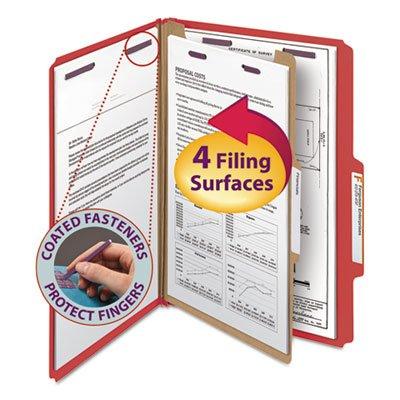 Smead Pressboard Classification Folders Legal Four