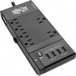Tripp Lite Protect It! 6-Outlet Surge Suppressor/Protector TLP66USBR