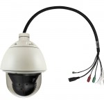 PTZ Dome Network Camera, PoE+ 802.3af/at, 2-Megapixel, Outdoor, 30x FCS-4042