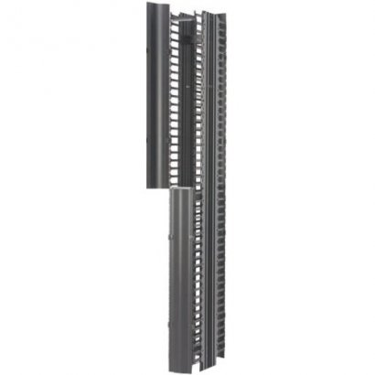 "B-Line RCM+ Vertical Cable Manager, Dual Sided High Density, 6""W X 84""H, Flat Black SB86086D084FB"
