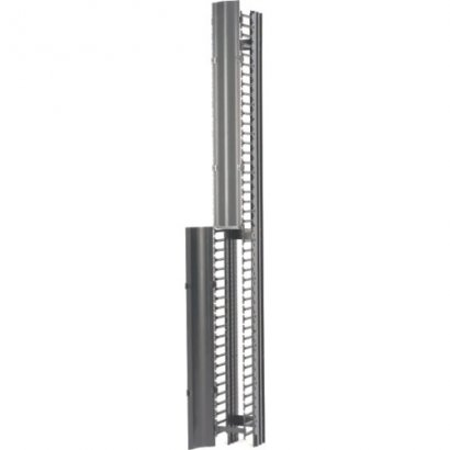 "B-Line RCM+ Vertical Cable Manager, Single Sided High Density, 6""W X 84""H, Flat Black SB86086S084FB"