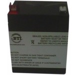 BTI SLA46-BTI Replacement Battery Cartridge RBC46-SLA46-BTI