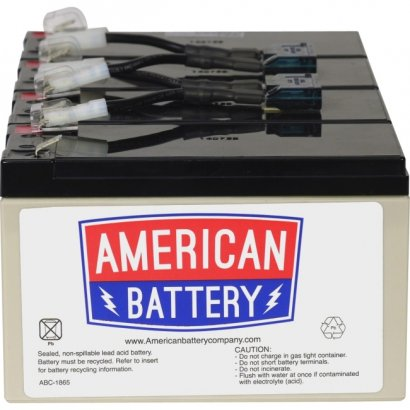 ABC Replacement Battery Cartridge RBC8