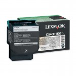 Lexmark Return High Capacity Black Toner Cartridge C540H1KG