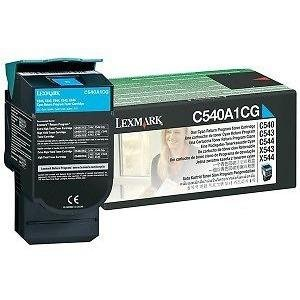 Lexmark Return Program Cyan Toner Cartridge C540A4CG