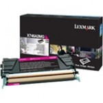 Lexmark Return Program Toner Cartridge X746A4MG