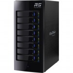 HighPoint RocketStor Hardware RAID Class 8-Bay Storage Tower Enclosure RS6418AS