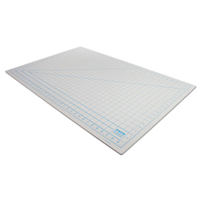 "X-ACTO Self-Healing Cutting Mat, Nonslip Bottom, 1"" Grid, 24 x 36, Gray EPIX7763"