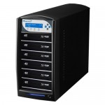 Vinpower Digital SharkBlu SATA BDXL Blu-ray/DVD/CD Tower Duplicator SHARKBLU-S6T-XL-BK