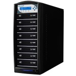 Vinpower Digital SharkBlu SATA BDXL Blu-ray/DVD/CD Tower Duplicator SHARKBLU-S8T-XL-BK