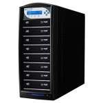 Vinpower Digital SharkBlu SATA Blu-ray/DVD/CD Tower Duplicator - 12x SHARKBLU-S8T-BK