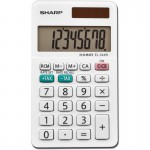 Sharp Calculators Sharp 8-Digit Pocket Calculator EL244WB